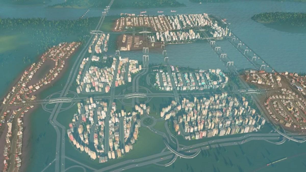 【Cities:skylines攻略ブログ】 渋滞を発生させない高速道路作りのコツ