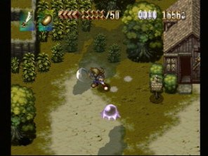 PSX Alundra 2 old screen