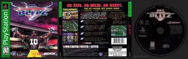 NFL Blitz Greatest Hits Release