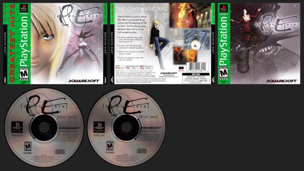 Parasite Eve Greatest Hits Double Jewel Case Release - Removes the Demo.