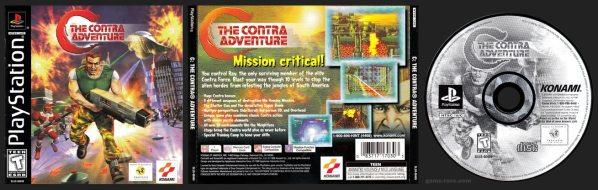 C Contra Adventure Jewel Case Release