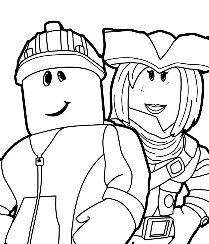 Roblox Coloring Pages Printable Coloring Pages