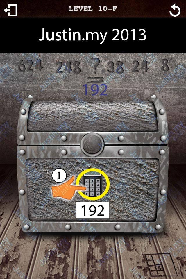 Treasure Box Level 10-F