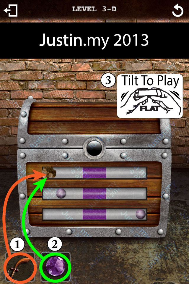 Treasure Box Level 3-D