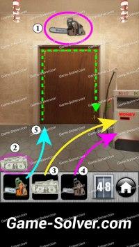 100 Doors Runaway Level 48 - Game Solver