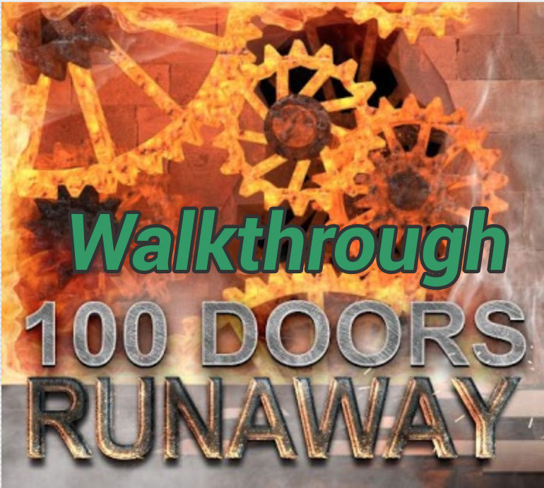 100 Doors Runaway Level 71 Game Solver