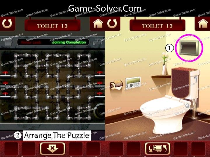 100 Toilets Level 13