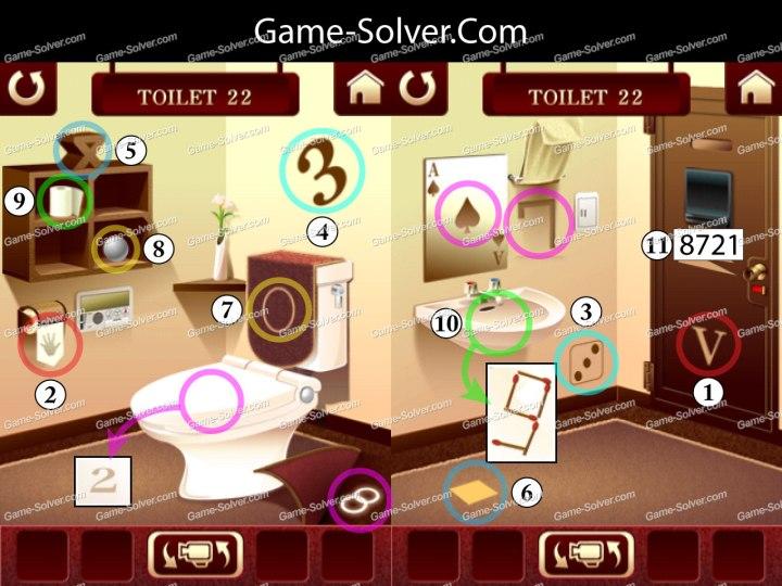 100 Toilets Level 22