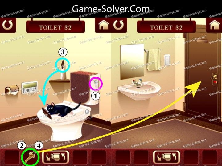 100 Toilets Level 32