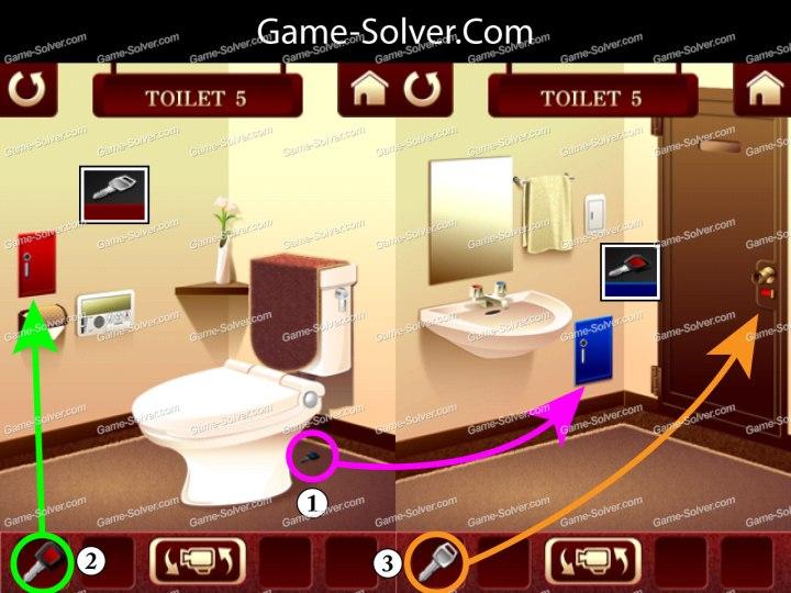 100 Toilets Level 5