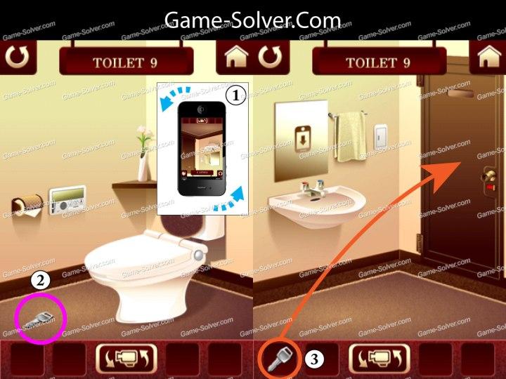 100 Toilets Level 9