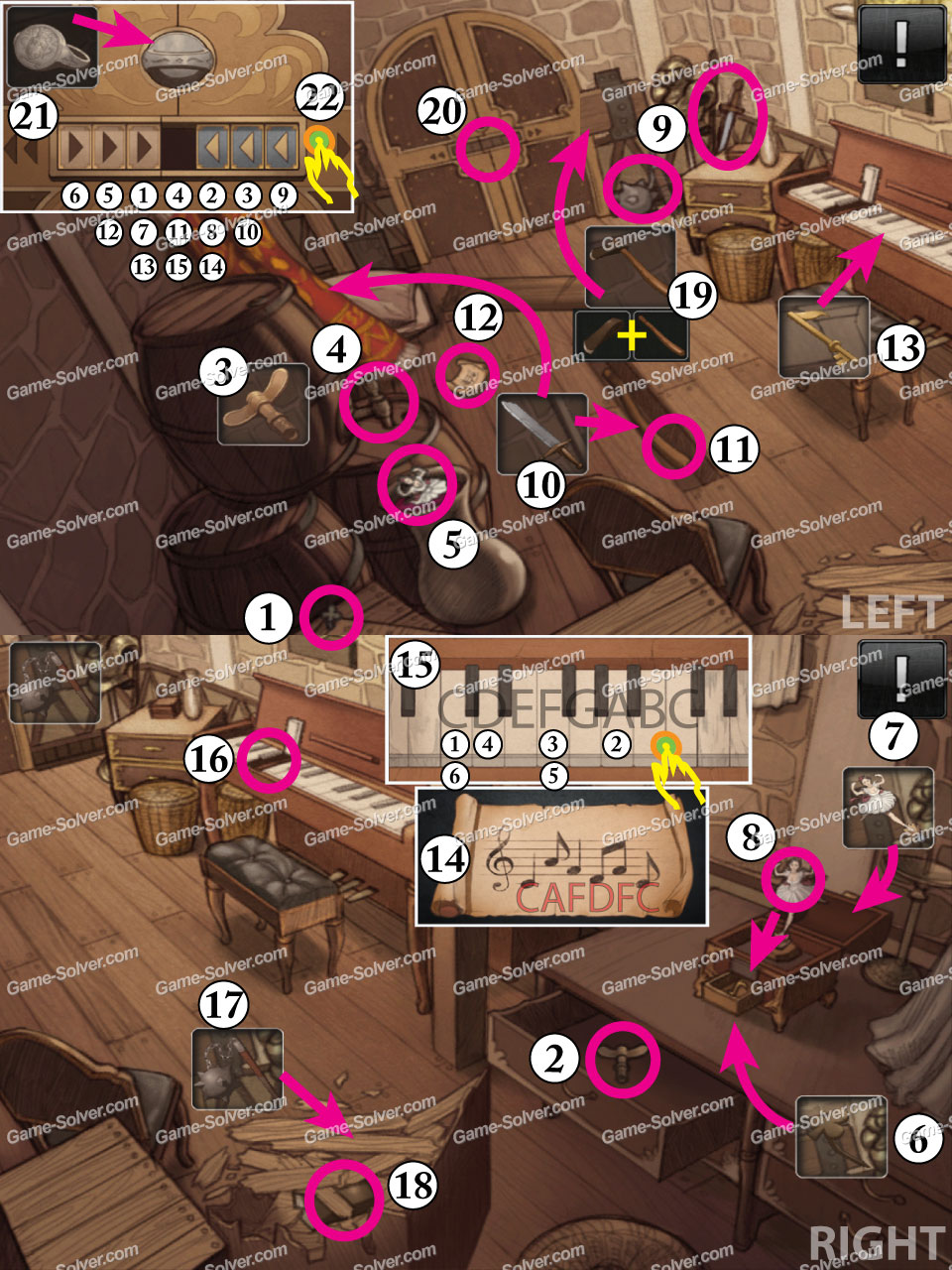 Doors and Rooms Chapter 5 The Kingdom  Game Solver