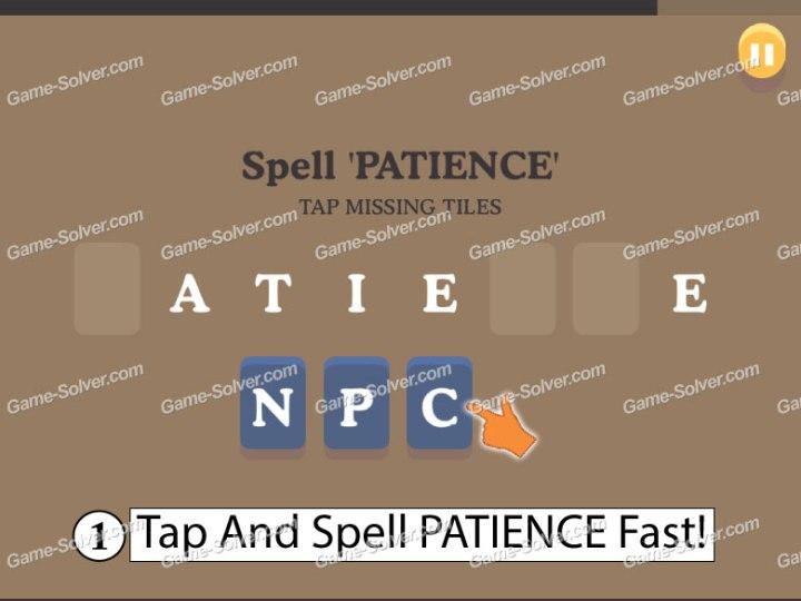 Dumb Ways To Die 9 Spell Patience
