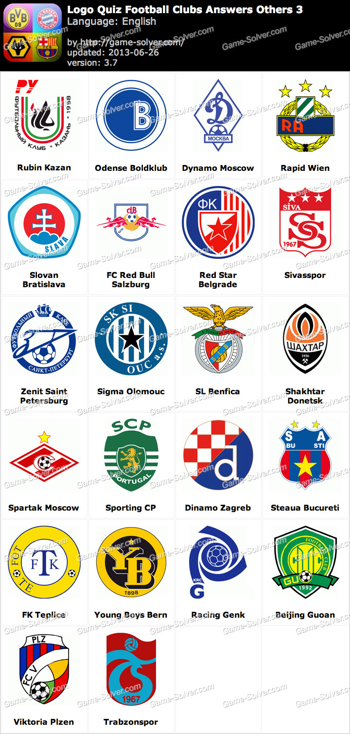Logo Quiz Football Clubs Answers Others 3