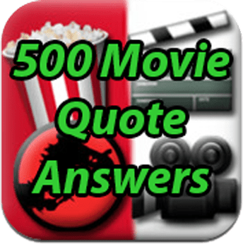 500 Movie Quote Icon
