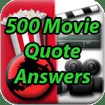 500 Movie Quote Icon