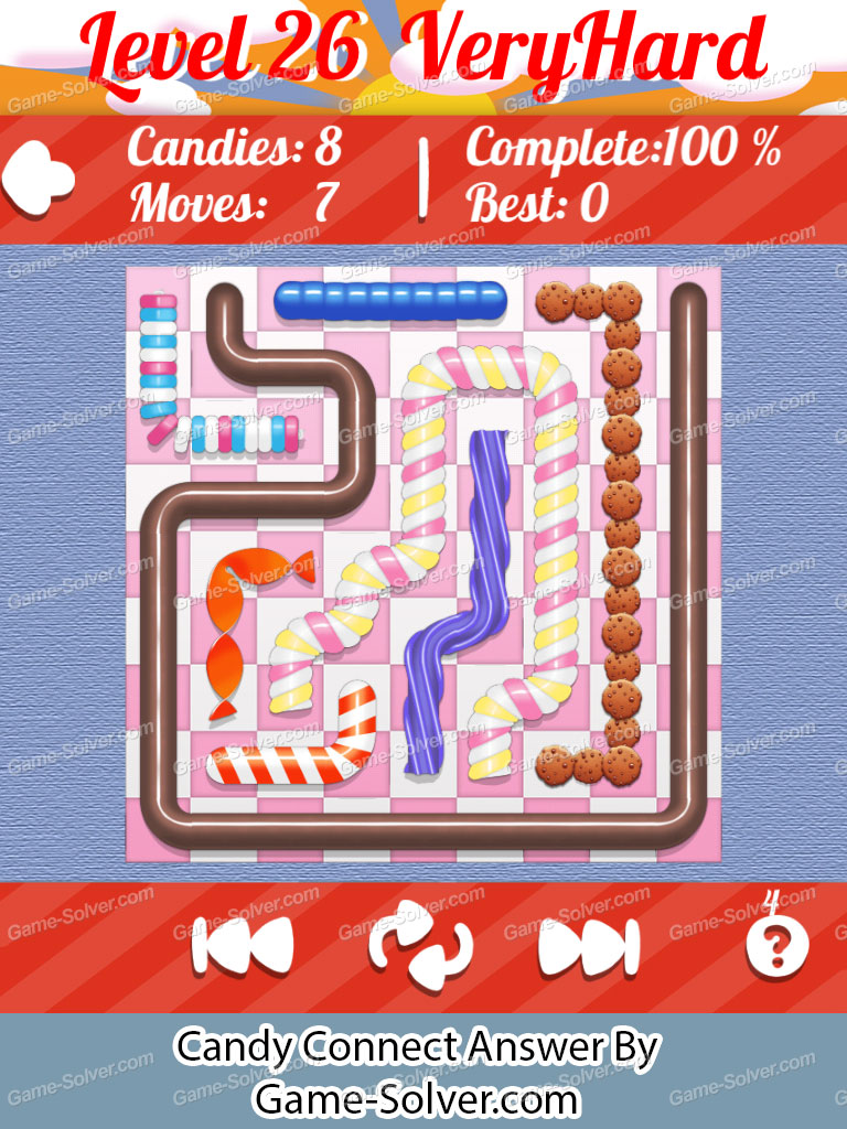Candy Connect 9x9 Very Hard Level 26