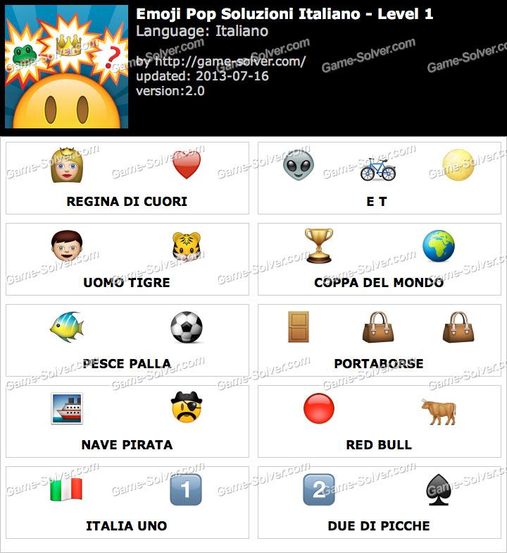 Emoji Pop Livello 1