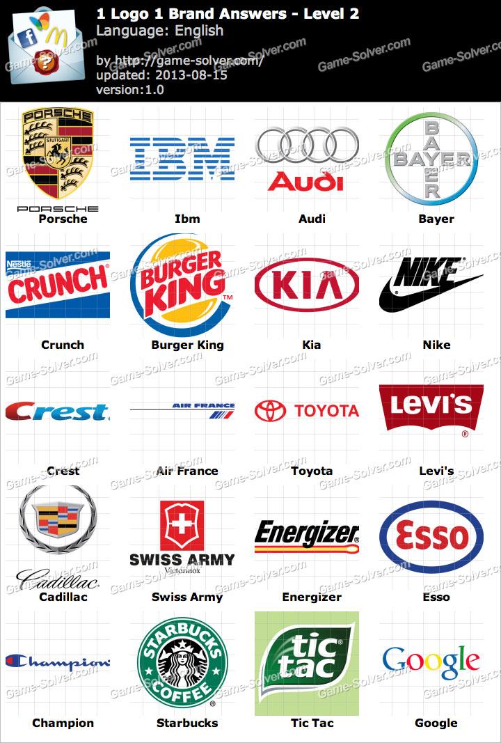 1 Logo 1 Brand Level 2