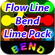 6 Flow Line Lime Pack