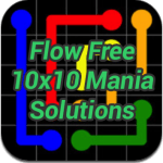 Flow 10×10 Mania Solutions