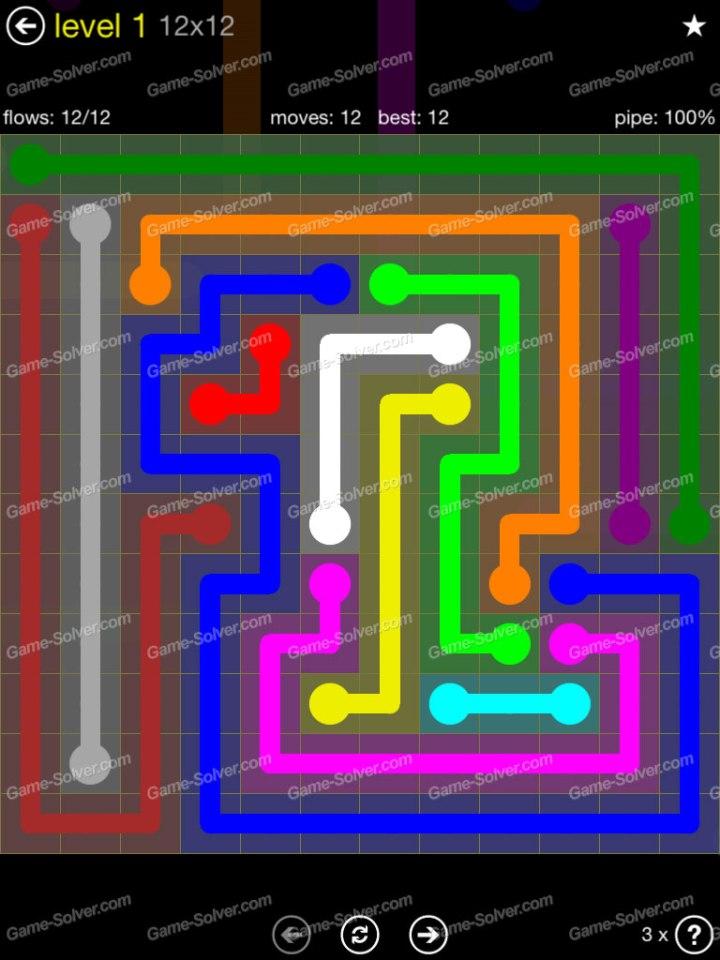 Flow 12x12 Mania Level 1