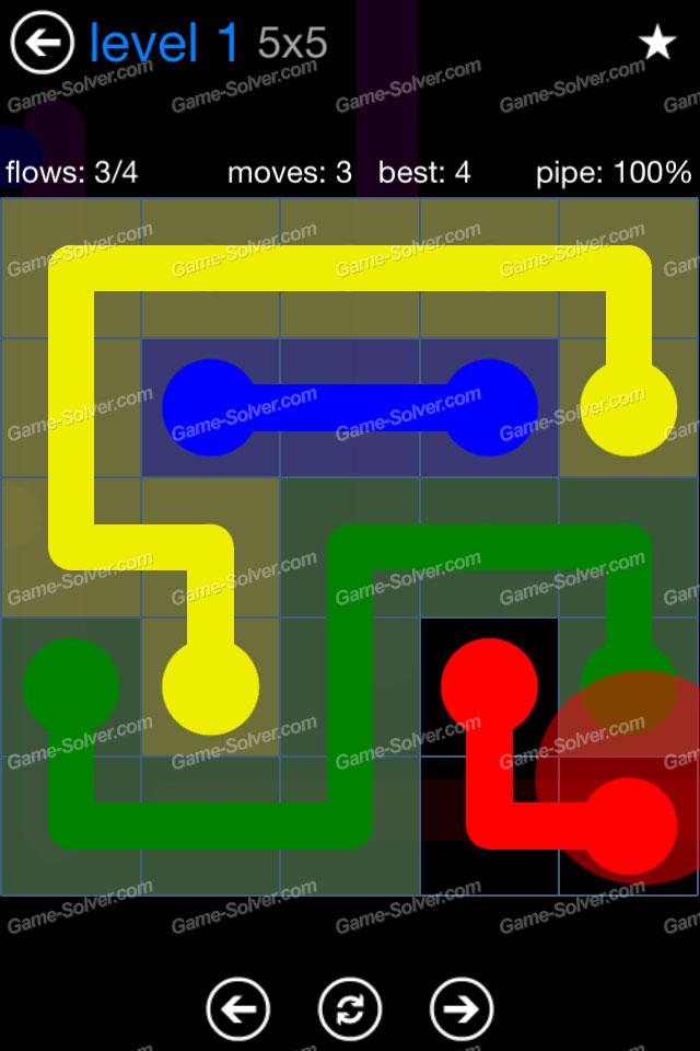 Flow Bonus Pack 5x5 Level 1