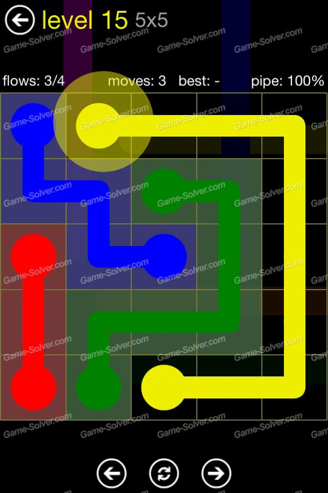 Flow Regular Pack 5x5 Level 15