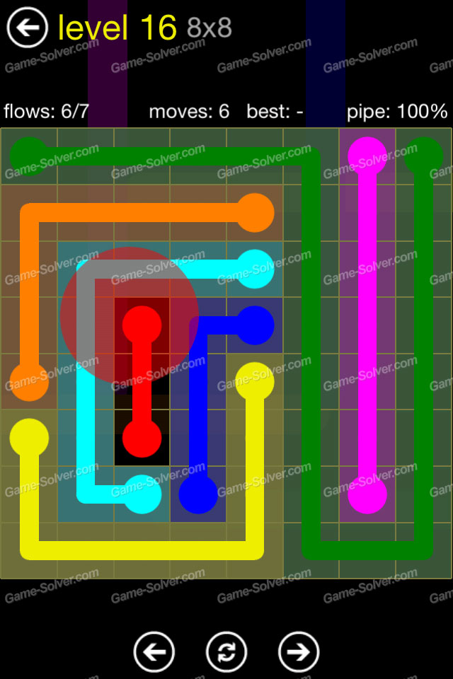 Flow Regular Pack 8x8 Level 16