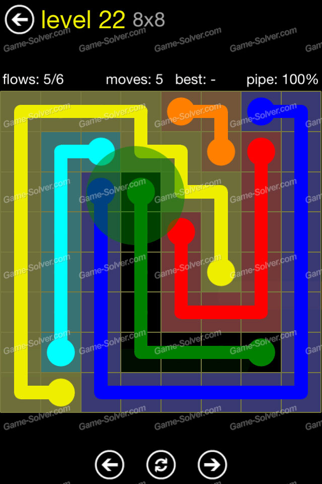Flow Regular Pack 8x8 Level 22