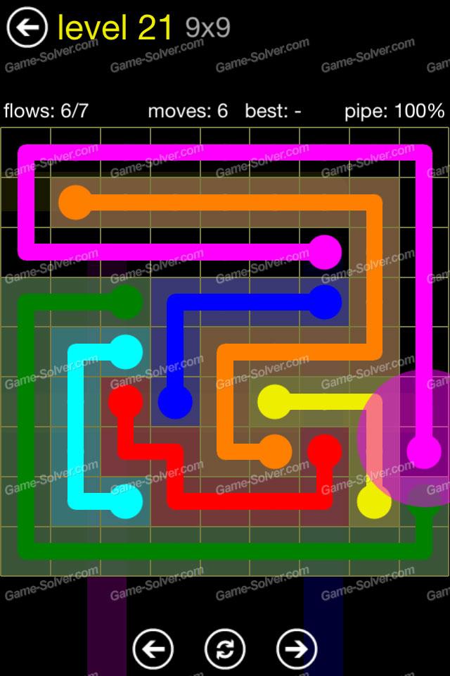 Flow Regular Pack 9x9 Level 21
