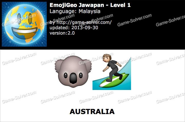 EmojiGeo Malaysia Level 1