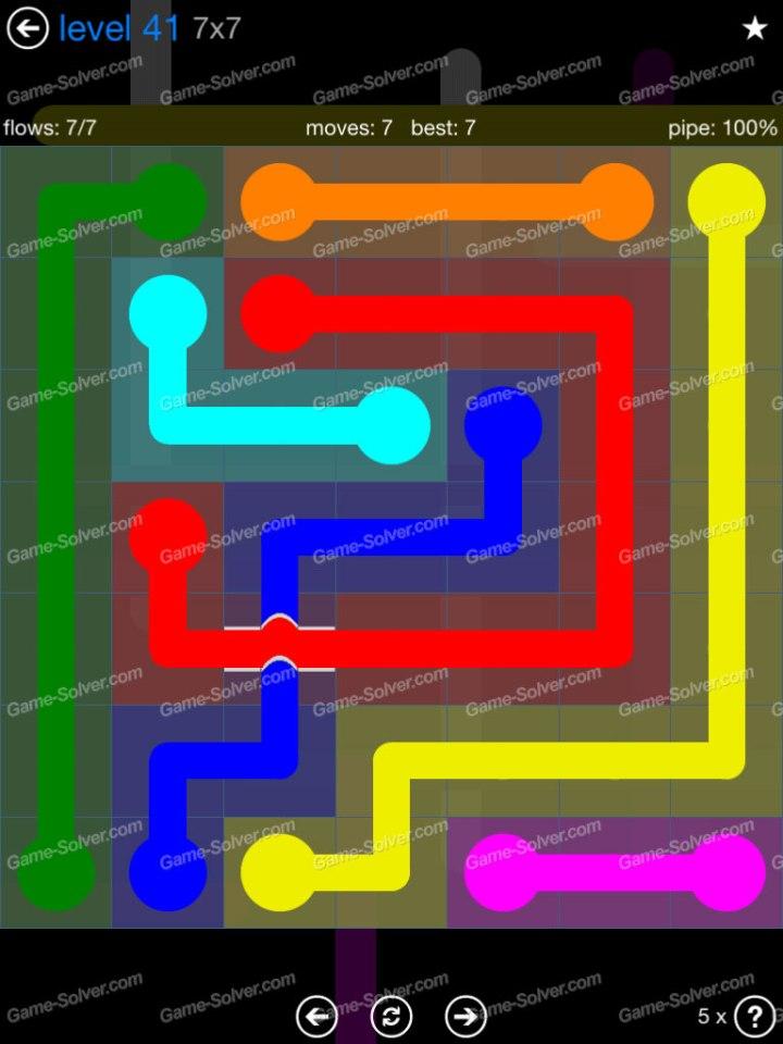 Flow Bridges Challenge Pack 7x7 Level 41