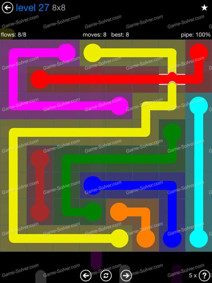 Flow Bridges Challenge Pack 8x8 Level 27