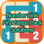 Number Link First Steps Pack Solutions