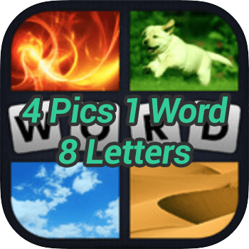 4 Pics 1 Word 8 Letters