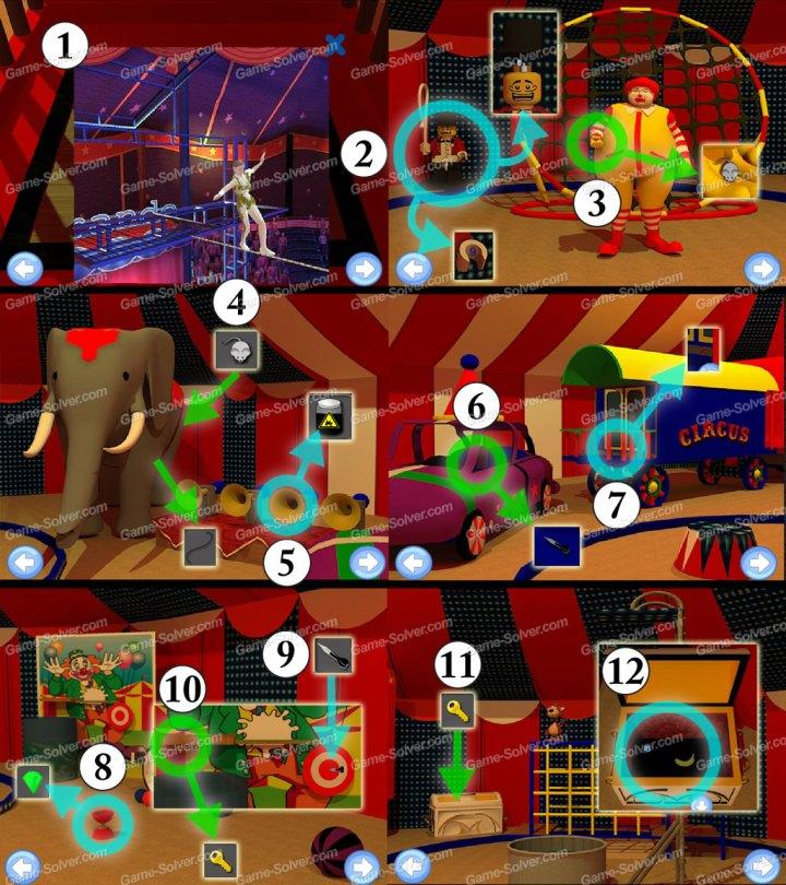 Circus Tent Escape Part 1