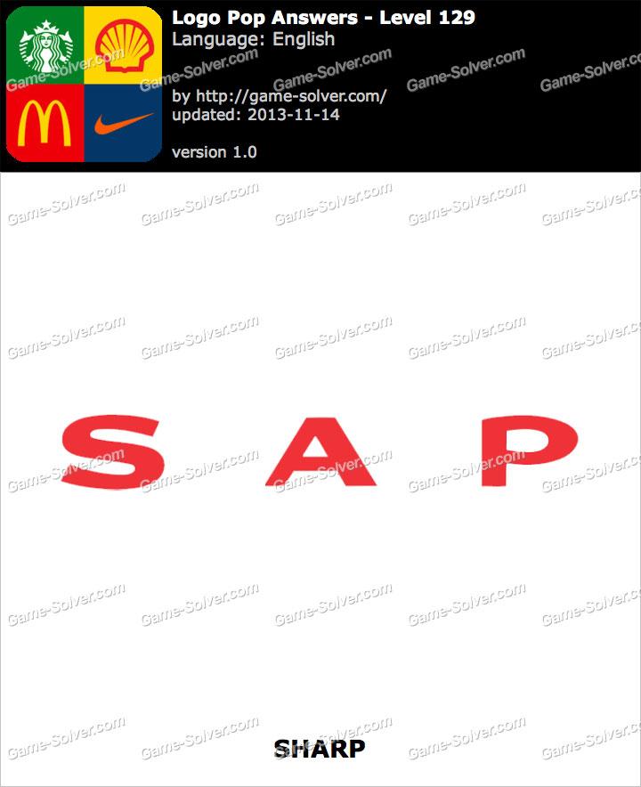 Logo Pop Level 129