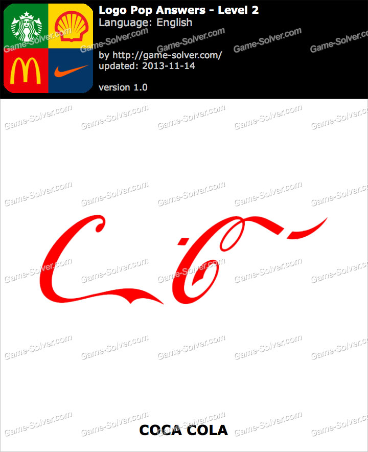 Logo Pop Level 2