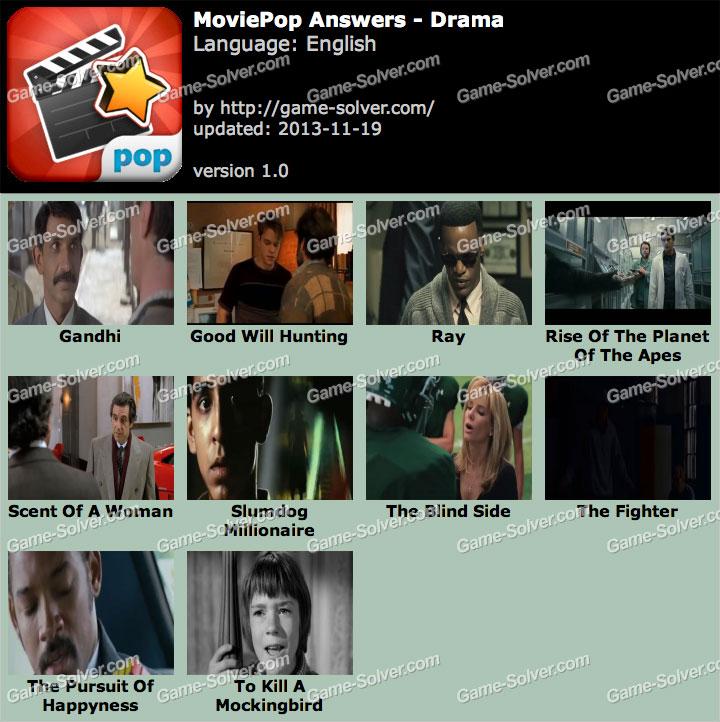 MoviePop Drama Answers