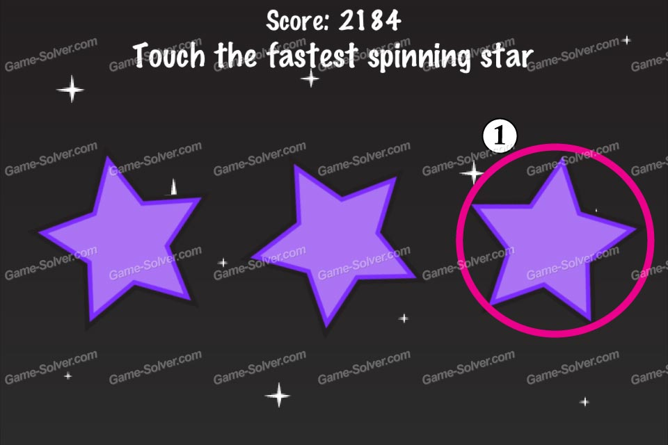 Impossible Test Space Touch the fastest spinning star
