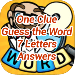 One Clue Answers 7 Letters