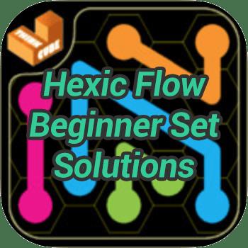Hexic Flow Beginner Set Solutions