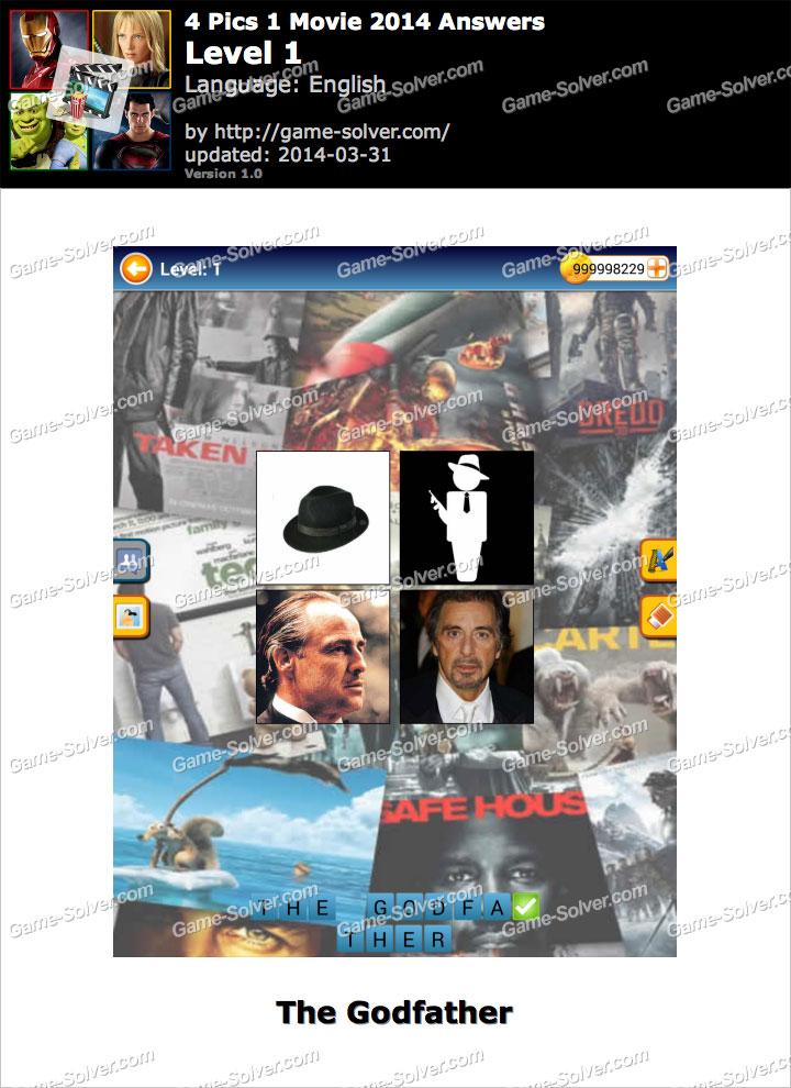 4 Pics 1 Movie 2014 Level 1