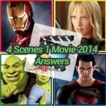 4 Scenes 1 Movie 2014 Answers