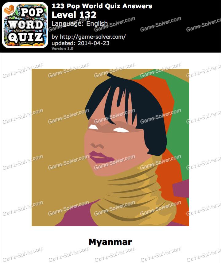 123 Pop World Quiz Level 132