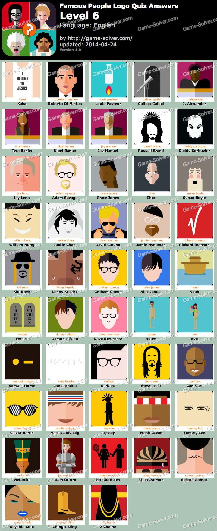 Famous People Logo Quiz Level 6
