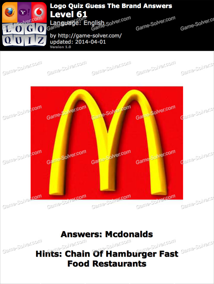 Fast Food Restaurants Quiz