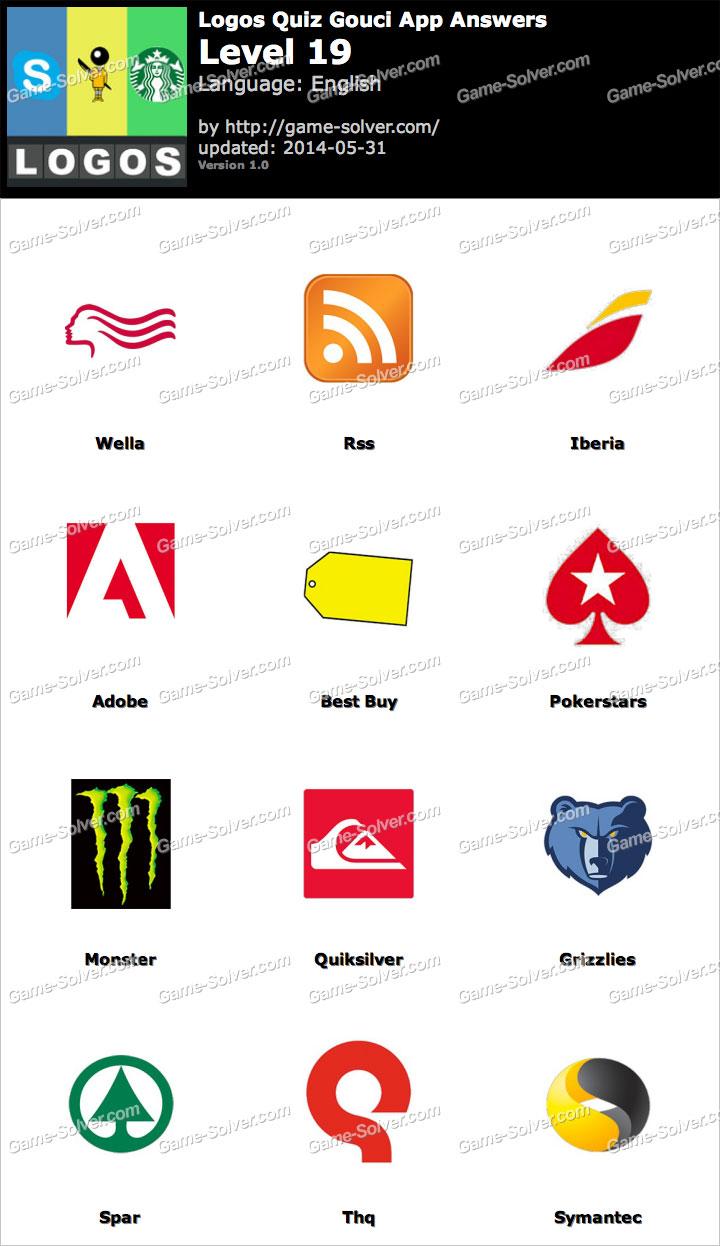 Logos Quiz Gouci App Level 19
