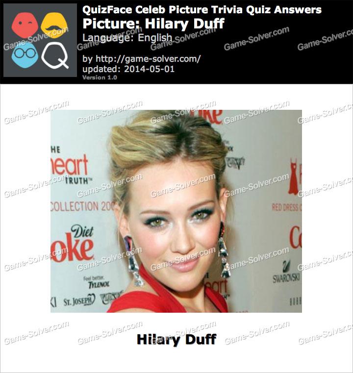 QuizFace Level Hilary Duff